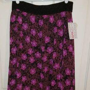 Deep purple floral Lucy Small